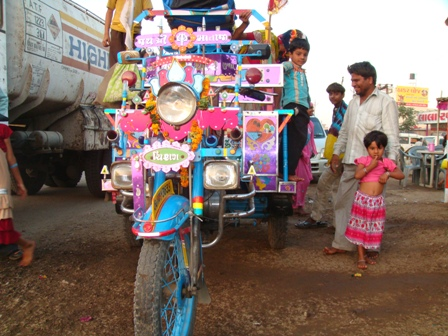 Chhakro, the popular mode of transport in rural Gujarat