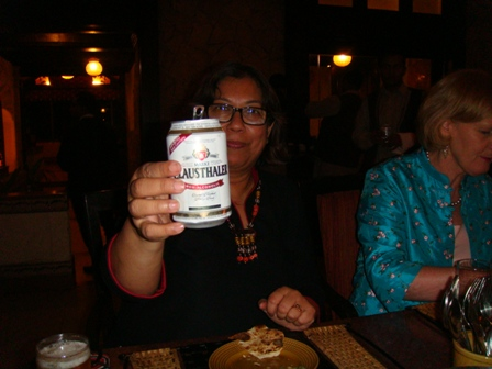 Sujata succumbs to the shine of non-alco beer