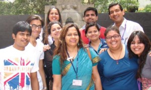 Teacher-author Kalpita Sarkar's Creative Writing class, Delhi