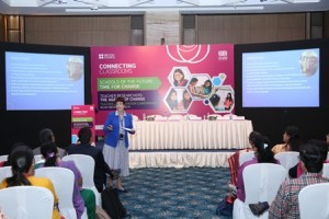 Dr Angela Cook spoke on the GTA programme in India