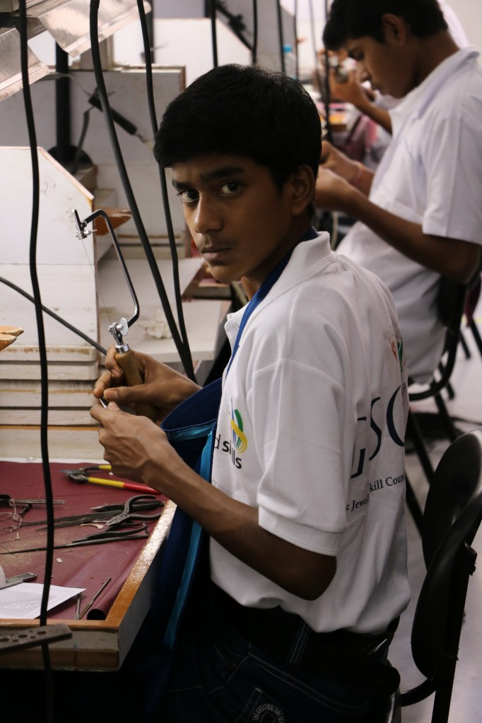 World Skills India, Finals of regional round of Fine Jewellery Making in Jaipur
