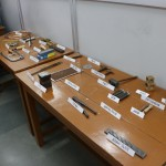 The tools used in making and polishing jewellery