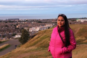 Sweta in Edinburgh