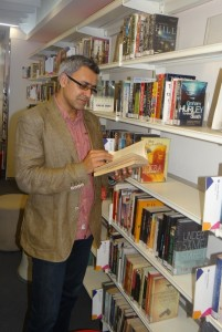 Daljit Nagra at Brtish Library N Chnadigargh