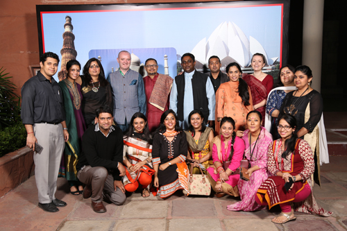 Some key members of the British Council India staff who organised the conference