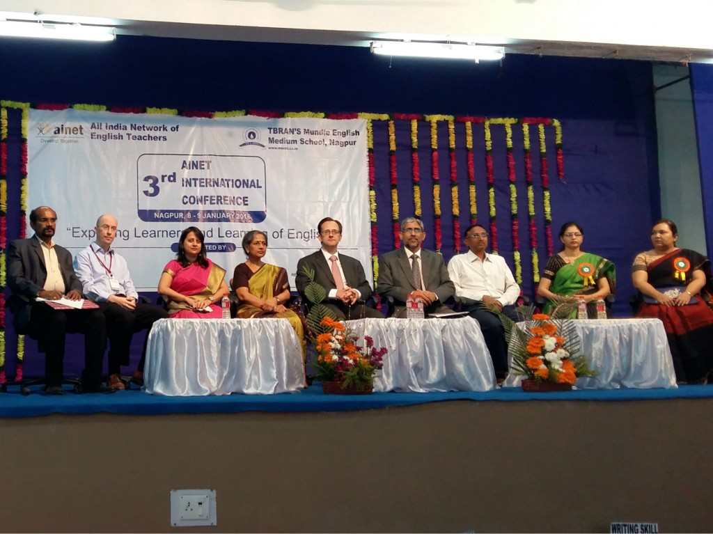 Chief guests and featured speakers at the event
