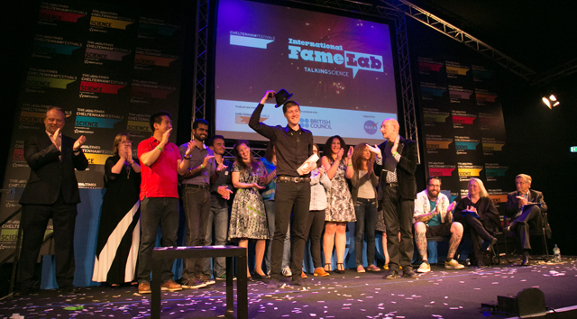 FameLab: The world's biggest science communication competition