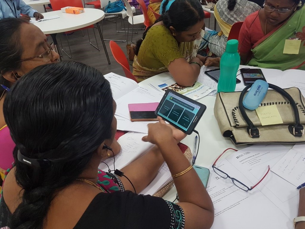 Teachers from Corporation of Chennai schools pilot the creativity and imagination app